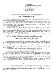 aprašas - Lietuvos Respublikos muitinė