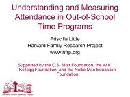 Understanding and Measuring Attendance in Out-of-School Time ...