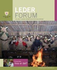 Lederforum nr. 4 2004 - KFUK-KFUM-speiderne
