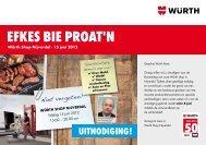 EfkEs bIE prOaT'N - Würth Nederland