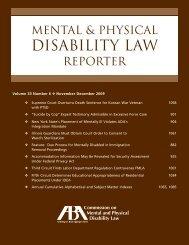 July/Aug 2009 issue - American Bar Association