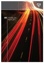 Annual Report 2008 (complete) - RTA - NSW Government