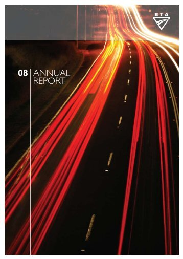Annual Report 2008 (complete) - RTA - NSW Government