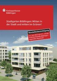 Stadtgarten Böblingen: Mitten in der Stadt und mitten im Grünen!
