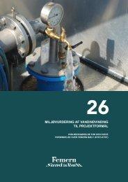 26 Miljøvurdering af vandindvinding til projektformål