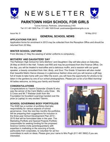 www parktowngirls co za magazines