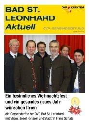 BAD ST. LEONHARD - ÖVP Kärnten