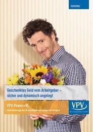 Power+VL Prospekt - VPV Makler
