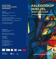 KaleidosKoP hoelZel - Kunstforum Ostdeutsche Galerie Regensburg