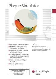 Plaque Simulator Software Factsheet ( pdf ) - SeeDos, UK