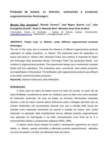ANEXO 1 – FOLHA 1 - Associação Brasileira da Batata (ABBA)