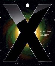 Mac OS X Server - Support - Apple