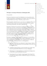 Høringssvar til forslag til Bornholms Udviklingsplan 2014 26 ...