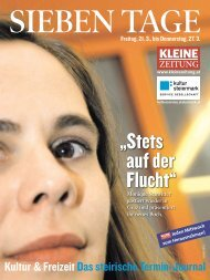 SieBen TaGe - Kultur Steiermark