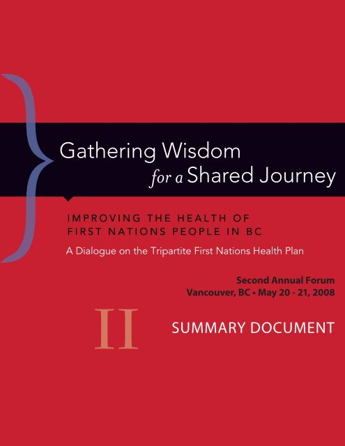 Pdf Download First Nations Health Council