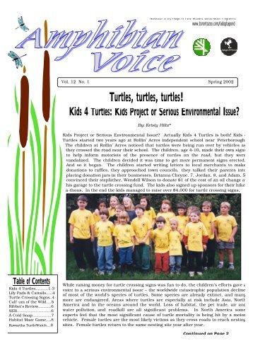 Kids 4 Turtles - Toronto Zoo
