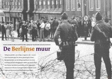 de Berlijnse muur - Kovom