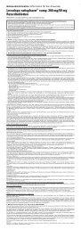 Levodopa-ratiopharm® comp. 200 mg/50 mg ... - pharma-fuchs.de