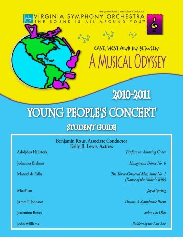 Young People's Concert - Virginia Symphony Orchestra
