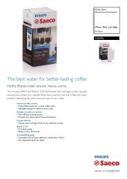 The Best water For Better-tasting Coffee - Philips