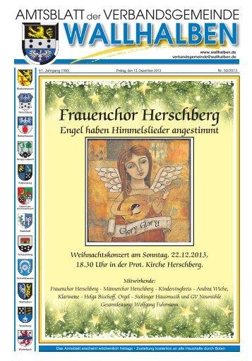 Frauenchor Herschberg - Verbandsgemeinde Wallhalben