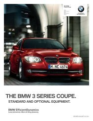Standard 2012 3 Series Coupe - Unilife BMW Military Sales