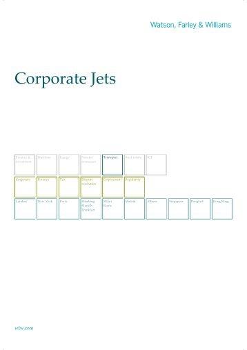 Corporate Jets - Watson, Farley & Williams