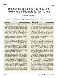 Importância do Volume Reticulocitário Médio para a ... - NewsLab