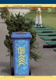 Geschäftsbericht 2009 - Verein PRS PET-Recycling Schweiz