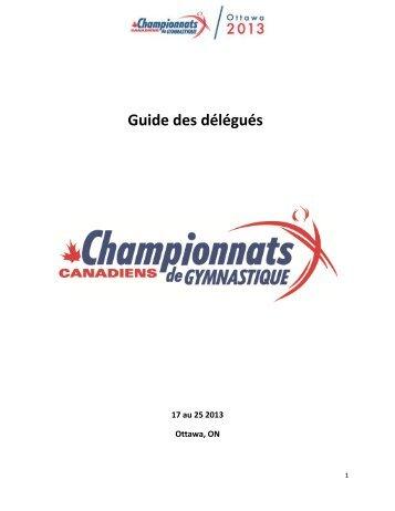 Guide des délégués
