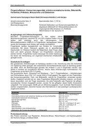 Bericht als PDF herunterladen - Bereich Gesundheitsschutz