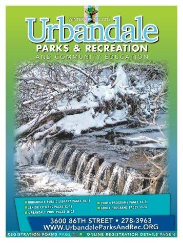 3600 86th street • 278-3963 WWW ... - City of Urbandale
