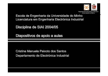 SIAI_cris_2005_introducao_SM - Universidade do Minho