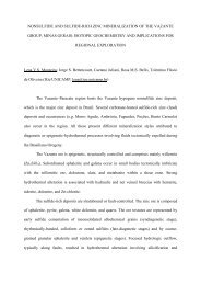 sulfur, carbon, oxygen and strontium isotopic evidences for the ...