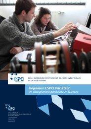Ingénieur ESPCI ParisTech