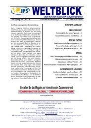 IPS-WELTBLICK Jg. 24 - Nr. 9 - IPS - WELTBLICK Online - IPS ...
