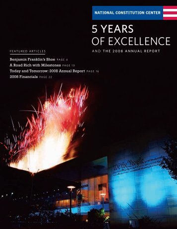 2008 Annual Report - National Constitution Center