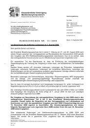 Rundschreiben Nr. 13/2008 - Kassenärztliche Vereinigung ...