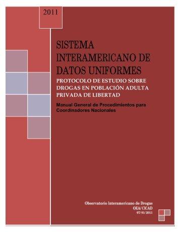 SISTEMA INTERAMERICANO DE DATOS UNIFORMES - cicad