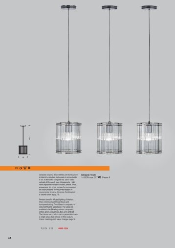 Lampada sospesa a luce diffusa per illuminazione ... - Laser Lighting