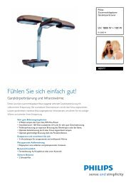Leaflet HB977 01 Released Germany (German) High-res ... - Philips