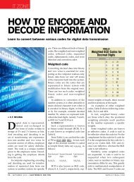 How to EncodE and dEcodE InformatIon