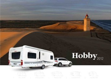 Download Hobby Wohnwagen Katalog 2012 - Camperland Bong