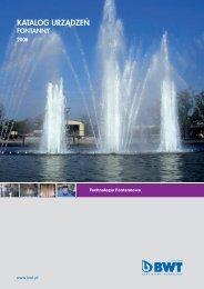 Fontanny - katalog - BWT Polska