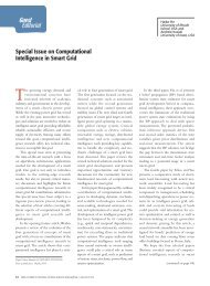 Special Issue on Computational Intelligence in Smart ... - IEEE Xplore