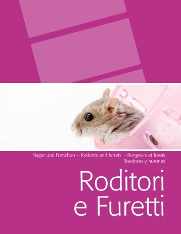 Nager und Frettchen – Rodents and ferrets - Rongeurs et ... - Camon