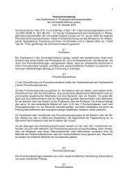 1 Promotionsordnung des Fachbereichs 2 - Universität Koblenz ...