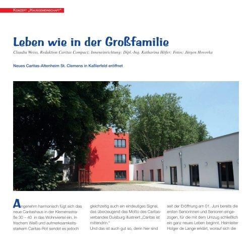 Leben wie in der Großfamilie - Caritasverband Duisburg e.V.