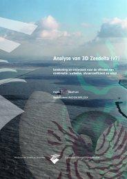 Analyse van 3D Zeedelta (v7): berekening en onderzoek ... - Simona