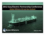 2012 Gas/Electric Partnership Conference